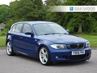 USED 2006 06 BMW 1 SERIES 3.0 130I M SPORT 5d 262 BHP