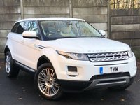 USED 2012 12 LAND ROVER RANGE ROVER EVOQUE 2.2 SD4 PRESTIGE LUX 5d AUTO 190 BHP PAN ROOF/BLIND SPOT MONITOR/PRIVACY GLASS