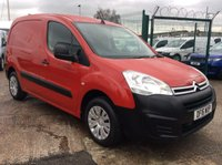 USED 2016 16 CITROEN BERLINGO 1.6 625 ENTERPRISE L1 HDI 74 BHP FSH MANUFACTURERS WARRANTY SATELLITE NAVIGATION AIR CONDITIONING ELECTRIC WINDOWS AND MIRRORS CRUISE CONTROL
