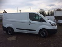USED 2015 15 FORD TRANSIT CUSTOM 270 Swb Low Roof econic