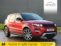 USED 2012 12 LAND ROVER RANGE ROVER EVOQUE 2.2 SD4 DYNAMIC 5d AUTO 190 BHP PAN ROOF,SAT NAV,LEATHER,DAB