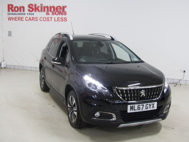 View our 2017 67 PEUGEOT 2008 1.2 PURETECH ALLURE 5d 82 BHP