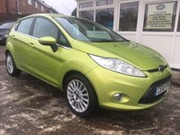 USED 2010 10 FORD FIESTA 1.4 ZETEC 16V 5dr Immaculate Throughout - Low Miles - Full History
