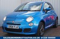 USED 2014 64 FIAT 500 1.2 S 3d 69 BHP £30 PER YEAR ROAD TAX