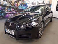 2015 JAGUAR XF 2.2 D R-SPORT BLACK 4d AUTO 200 BHP £17494.00