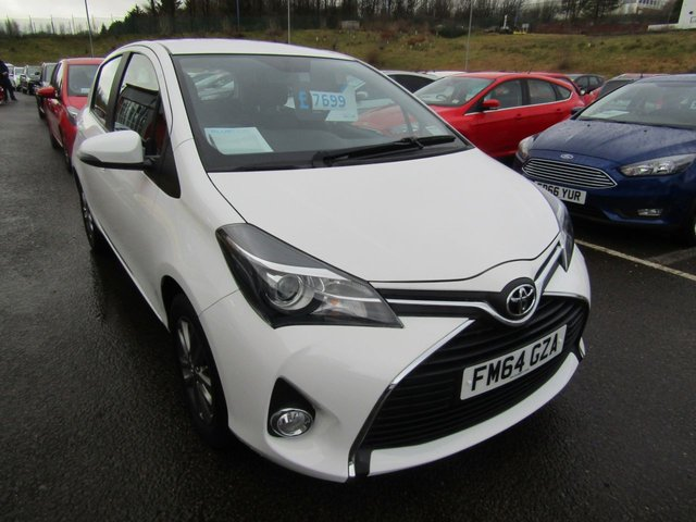 View our 2015 64 TOYOTA YARIS 1.3 VVT-I ICON 5d 99 BHP