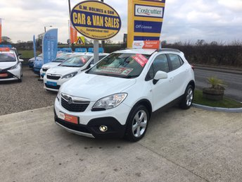2014 VAUXHALL MOKKA EXCLUSIVE 1.7 CDTI 4X4 **ONE OWNER**ONLY 39000 MILES**FVSH** £9495.00