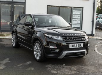 2014 LAND ROVER RANGE ROVER EVOQUE 2.2 SD4 DYNAMIC 5d 190 BHP £22690.00