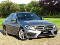 USED 2015 15 MERCEDES-BENZ C CLASS 2.1 C220 BLUETEC AMG LINE PREMIUM PLUS 4d AUTO 170 BHP FIRST TO SEE WILL BUY