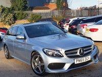 2015 MERCEDES-BENZ C CLASS 2.1 C220 D AMG LINE 5d AUTO 170 BHP £18776.00