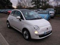 2015 FIAT 500 1.2 LOUNGE 3d 69 BHP £6000.00