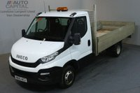 USED 2015 65 IVECO DAILY 2.3 35C13 126 BHP EXTRA LWB TWIN WHEEL S/CAB DROPSIDE REAR BED LENGTH 14 FOOT