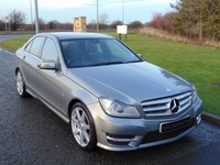 2012 MERCEDES-BENZ C CLASS 3.0 C350 CDI BLUEEFFICIENCY SPORT 4d AUTO 265 BHP £12990.00