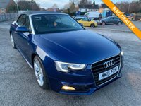 USED 2015 15 AUDI A5 1.8 TFSI S LINE 2d 168 BHP Bang & Olufsen sound system, cruise control, 1 owner from new with full