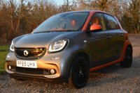 USED 2015 65 SMART FORFOUR 0.9 EDITION1 T 5d 90 BHP 2 FORMER FSH SUNROOF CAMERA PARK AIDS CRUISE BLUETOOTH SAT NAV TAX £0