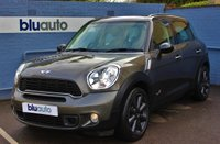 USED 2012 12 MINI COUNTRYMAN 1.6 COOPER S ALL4 5d AUTO 184 BHP £6595 in Extras, Sat Nav, Chillis Pack, Full Leather, Heated seats, Cruise Control........