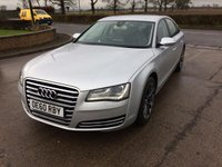 USED 2011 AUDI A8 3.0 TDI QUATTRO SE EXECUTIVE 4d 250 BHP ;