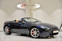 2007 ASTON MARTIN VANTAGE 4.3 V8 ROADSTER MANUAL CONVERTIBLE ASTON WARRANTY £39950.00
