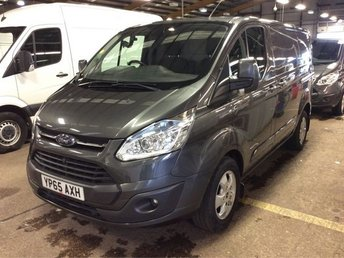 2015 FORD TRANSIT CUSTOM 2.2 270 LIMITED LR P/V 1d 124 BHP £12000.00