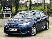 2016 TOYOTA AVENSIS 1.6 D-4D BUSINESS EDITION 4d 110 BHP £10395.00