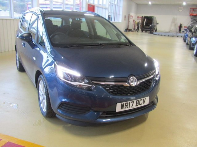 View our 2017 17 VAUXHALL ZAFIRA TOURER 1.4 DESIGN 5d 138 BHP