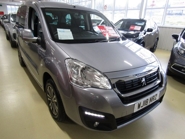View our 2018 18 PEUGEOT PARTNER 1.6 BLUE HDI TEPEE ACTIVE 5d AUTO 100 BHP
