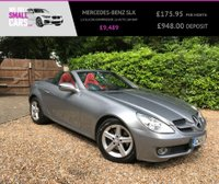 USED 2010 60 MERCEDES-BENZ SLK 1.8 SLK200 KOMPRESSOR 2d AUTO 184 BHP FULL RED LEATHER INTERIOR FULL SERVICE HISTORY WITH LOW MILES