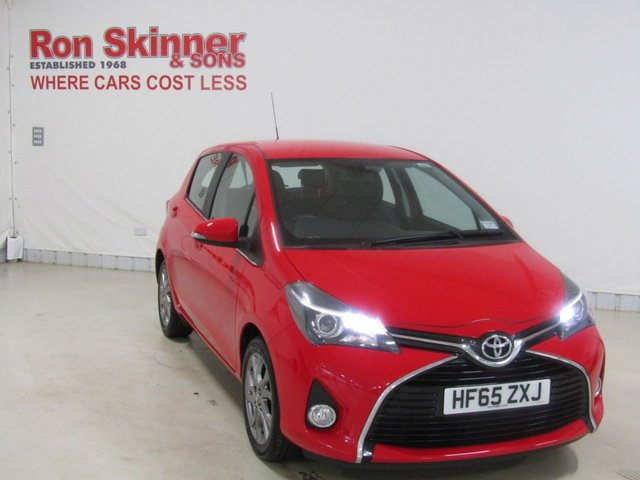 View our 2015 65 TOYOTA YARIS 1.3 VVT-I EXCEL 5d 99 BHP