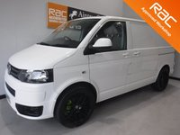 USED 2012 12 VOLKSWAGEN TRANSPORTER 2.0 T28 TDI 1d 102 BHP AMAZING VAN FINISHED IN GLEAMING WHITE WITH ONE OWNER FROM NEW, NO VAT AND FULL SERVICE HISTORY, CAM BELT AND WATER PUMP HAS BEEN DONE, THE VAN HAS AN S LINE FRONT SPLITER, REAR BOOT SPOILER, FULLY COLOUR CODED, ONLY USED FOR LIGHT WORK COMES WITH ELEC WINDOWS, 2 KEYS