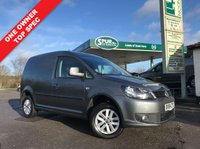 USED 2014 64 VOLKSWAGEN CADDY 1.6 C20 TDI HIGHLINE 1d 101 BHP One Owner, Air Con, Top Spec.