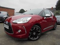 USED 2014 14 CITROEN DS3 1.6 E-HDI AIRDREAM DSPORT PLUS 3d 111 BHP ***BLUETOOTH***CRUISE CONTROL***SPORTS SUSPENSION***