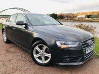 2012 AUDI A4 2.0 TDI SE 4d AUTO 141 BHP £7995.00