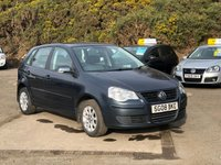 USED 2008 08 VOLKSWAGEN POLO 1.4 SE 5d AUTO 79 BHP GENUINE LOW MILEAGE *  FULL SERVICE HISTORY *  2 PREVIOUS KEEPERS *  FULL YEAR MOT *