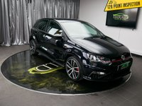USED 2016 16 VOLKSWAGEN POLO 1.8 GTI DSG 5d AUTO 189 BHP £0 DEPOSIT FINANCE AVAILABLE, AIR CONDITIONING, AUX INPUT, BLUETOOTH CONNECTIVITY, CLIMATE CONTROL, COLOUR TOUCH SCREEN MULTIMEDIA SYSTEM, DAB RADIO, DAYTIME RUNNING LIGHTS, GEARSHIFT PADDLES, SD CARD SLOTS, START/STOP SYSTEM, STEERING WHEEL CONTROLS, TRIP COMPUTER, USB CONNECTION