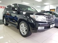 USED 2010 10 TOYOTA LAND CRUISER 4.5 V8 D-4D 5d AUTO+CAMERA+LEATHER+FULL SERVICE HISTORY+MASSIVE SPEC