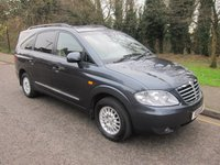 2013 SSANGYONG RODIUS 2.0 ES 5d 153 BHP, LEATHER, 7 SEATS. £9000.00