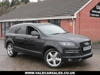 USED 2009 09 AUDI Q7 3.0 TDI QUATTRO S LINE (£4,190 OF EXTRAS) AUTO 5dr FULL SERVICE HISTORY / OVER £4,000 OF EXTRAS