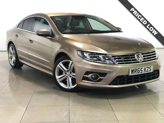 View our 2015 65 VOLKSWAGEN CC 2.0 R LINE TDI BLUEMOTION TECHNOLOGY DSG NAV 4d AUTO 182 BHP