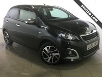 USED 2015 65 PEUGEOT 108 1.2 PURETECH FELINE 5d 82 BHP 1 Owner/Leather/Reverse Camera