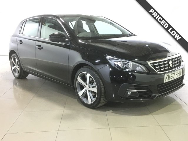 View our 2017 67 PEUGEOT 308 1.6 BLUE HDI S/S ALLURE 5d AUTO 119 BHP