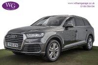 USED 2016 66 AUDI Q7 3.0 TDI QUATTRO S LINE 5d AUTO 269 BHP
