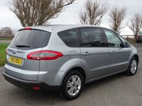 USED 2012 12 FORD S-MAX 2.0 ZETEC TDCI 5d 138 BHP ZERO DEPOSIT FINANCE AVAILABLE