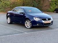 2009 VOLKSWAGEN EOS 2.0 SE TDI 2d 138 BHP - CABRIOLET IN EXCELLENT CONDITION £4600.00