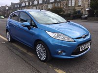 USED 2009 59 FORD FIESTA 1.4 TITANIUM TDCI 5d 68 BHP OUR  PRICE INCLUDES A 6 MONTH AA WARRANTY DEALER CARE EXTENDED GUARANTEE, 1 YEARS MOT AND A OIL & FILTERS SERVICE. 6 MONTHS FREE BREAKDOWN COVER.  CALL US NOW FOR MORE INFORMATION OR TO BOOK A TEST DRIVE ON 01315387070 !!