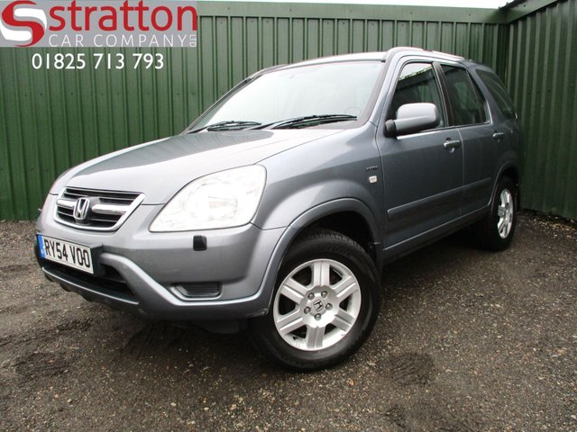 2004 54 HONDA CR-V 2.0 I-VTEC EXECUTIVE 5d 148 BHP
