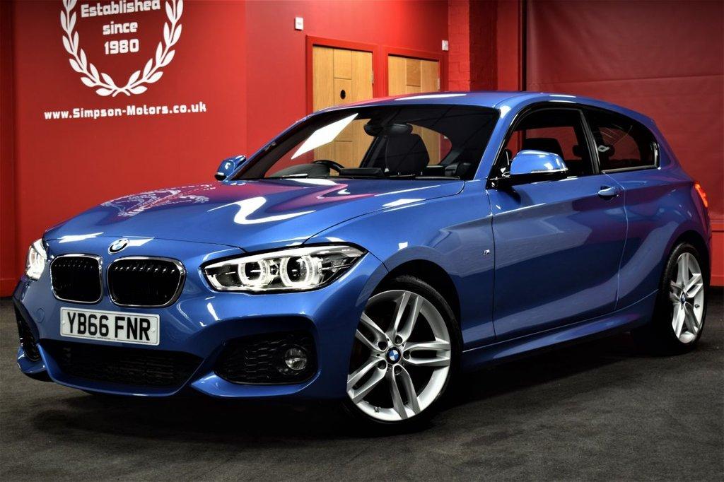 USED 2016 66 BMW 1 SERIES 1.5 116D M SPORT 3d 114 BHP