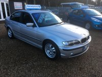 USED 2003 52 BMW 3 SERIES 2.0 318I ES 4d 141 BHP FULL SERVICE HISTORY - PART EXCHANGE TO CLEAR