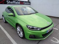 USED 2014 64 VOLKSWAGEN SCIROCCO 2.0 GT TDI BLUEMOTION TECHNOLOGY 2d 150 BHP £226 A MONTH  PARKING SENSORS HALF LEATHER TRIM PARK ASSIST £30 ROAD TAX ALLOY WHEELS SOUGHT AFTER COLOUR