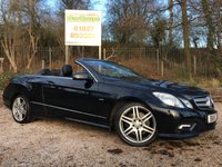 USED 2011 11 MERCEDES-BENZ E CLASS 3.0 E350 CDI BLUEEFFICIENCY SPORT 2dr AUTO Huge Spec, Sat Nav, Leather