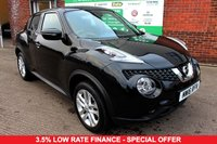 USED 2016 16 NISSAN JUKE 1.2 N-CONNECTA DIG-T 5d 115 BHP +FULLY LOADED +FSH +LOW MILES.